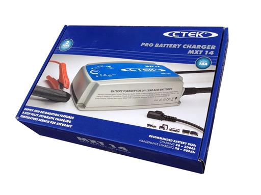 CTEK MXT 14 Batterie Akku Ladegerät 24V MXT14 c tek 24 Volt Profi Werkstatt LKW