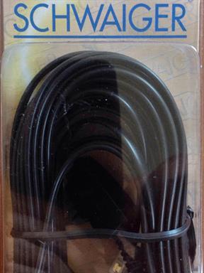 Telefon-Kabel Schwaiger FLT433 Zusatzgeräte TAE-N 4-adrig auf RJ14 Western 6(4)