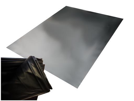 Sexlaken wasserdicht Bettlaken Bettwäsche schwarz 180x260 cm kein Latex waschmaschinenfest bis 95° von eXODA