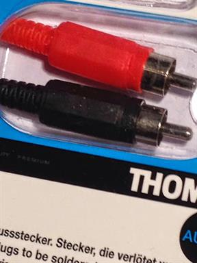 Thomson KCA174 Cinch Adapter 2x Cinch Steckverbinder
