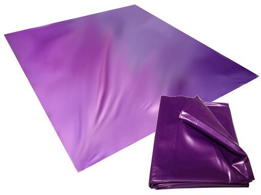 Sexlaken wasserdicht Bettlaken Bettwäsche lila 200x230 cm kein Latex von eXODA