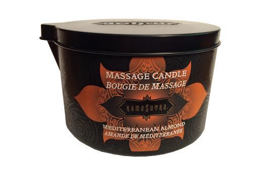 Kamasutra Massage Kerze Mediterran Almond für das Massageerlebnis zu zweit!