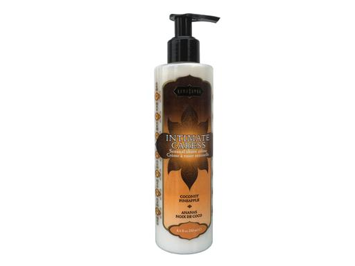 Kamasutra - Intimate Caress - Ananas Kokosnuss Duft 250ml - Intim Rasier Creme