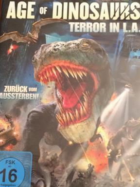 Age of Dinosaurs - Terror in L.A. Film DVD