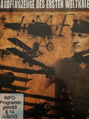 Jagdflugzeuge des Ersten Weltkriegs Film DVD