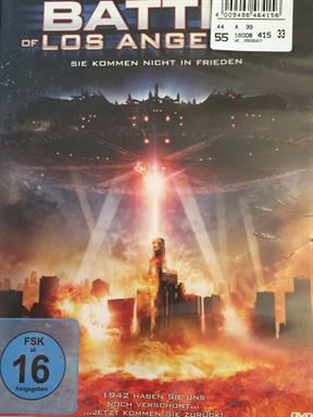 Battle of Los Angeles Film DVD