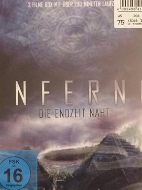 Inferno 2012 [Blu-ray] Film