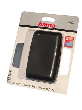 Hama Gel Skin 3D Handytasche für Apple iPhone 3G/3GS schwarz