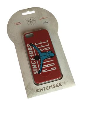 Chiemsee 04050 ILLIMANI Rot Cover Case für Apple iPhone 5 / 5S