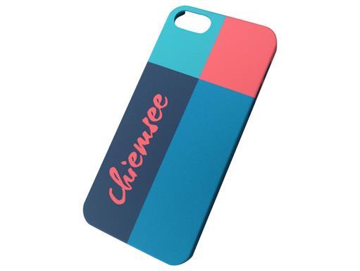 Chiemsee 04039 KARWENDEL Blau Cover Case für Apple iPhone 5 / 5S
