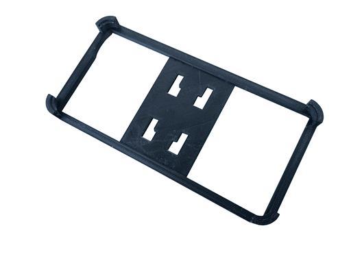 Krallencase Schwarz für iPhone 6 6s für 4-Krallensystem KFZ Halterungen