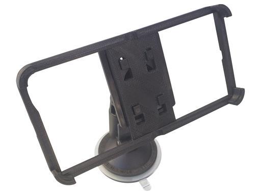 iPhone 6 6s Halterung Krallencase mit Haltevorrichtung und Saugnapf abnehmbar