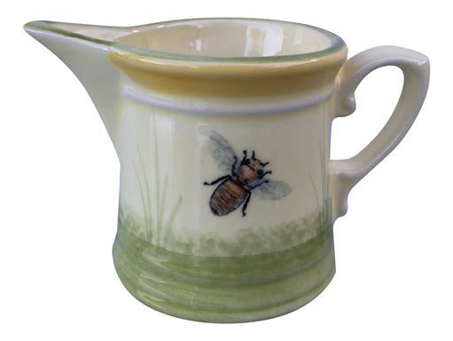 Zeller Keramik Biene Rahmgießer Milchgießer Sahnekännchen