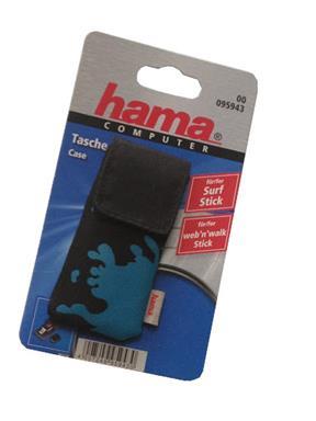 Hama Tasche für Surf Stick Web n Walk Hülle Case mit Karabinerhaken