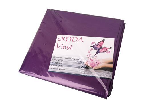 Inkontinenzlaken Unterlaken Matratzenauflage lila 200x230 cm Inkontinenzauflage Inkontinenz-Bettlaken auch für Kinder von eXODA