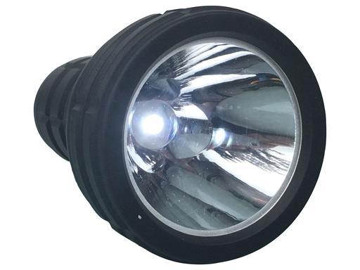 HEITECH LED-Power-Leuchte Taschenlampe + Standleuchten-Funktion Camping-Leuchte