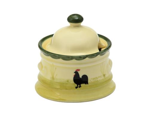 Zeller Keramik Zuckerdose Hahn & Henne