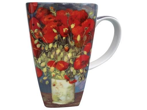 Jameson & Tailor van Gogh Poppies BONE China-Design Porzellan Künstler Becher Tasse Renaissance