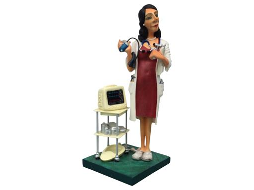 Guillermo Forchino Figur - The Professionals - Madam Doctor - Ärztin - 42cm