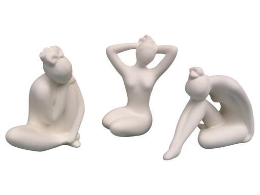 Gilde Skulptur Creme C Aparte Schönheit - 3 Figuren