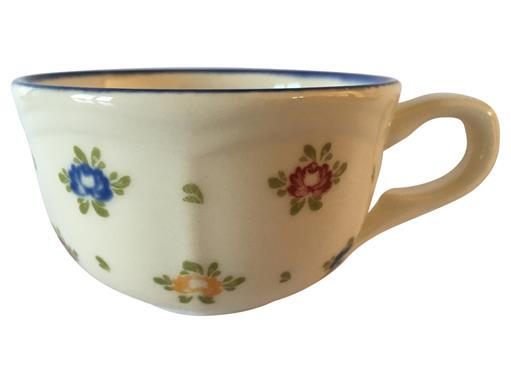 Zeller Keramik Obertasse Schale Petite Rose Tasse