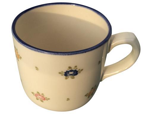 Zeller Keramik Kaffeebecher Petite Rose Kaffeebecher 0,3l