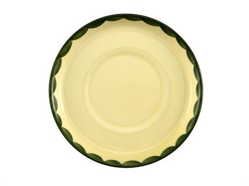 Zeller Keramik Untertasse zu Kinderbecher Hahn und Henne