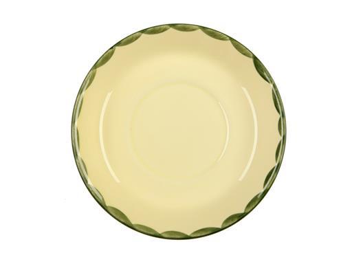 Zeller Keramik Untertasse Hahn und Henne 18,00 cm für Jumbotasse