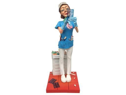 Die Zahnärztin von Guillermo Forchino 22,5cm - Lady Dentist