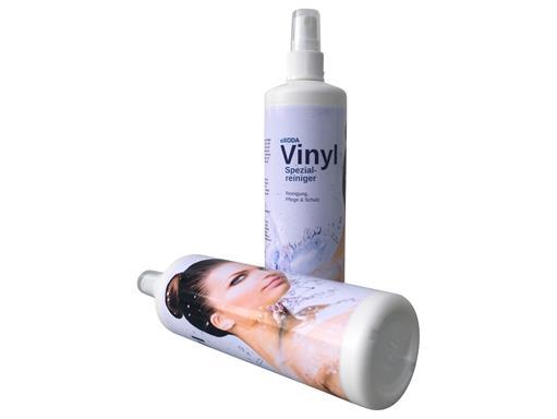 eXODA Vinylreiniger Spezialcleaner für Inkontinenzlaken und Wasserbetten 250 ml mit Pumpzerstäuber Vinylpflege für Wasserbetten
