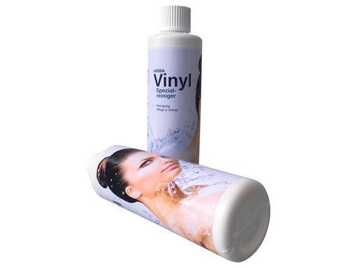 eXODA Vinylreiniger Spezialcleaner für Inkontinenzlaken und Wasserbetten 250 ml Vinylpflege