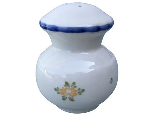 Zeller Keramik Petite Rose Salzstreuer 8 cm