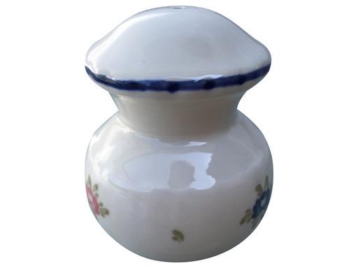 Zeller Keramik Petite Rose Pfefferstreuer 8 cm