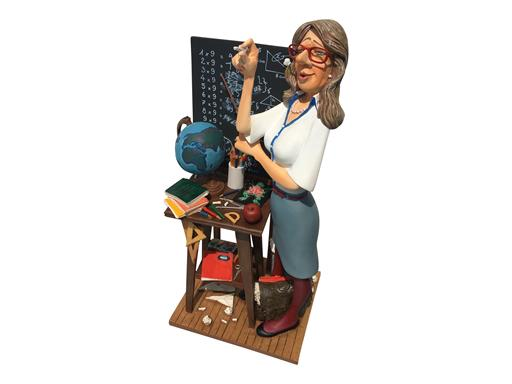 Forchino Figur Lehrerin Professionals - Teacher - Lehrerin Skulptur