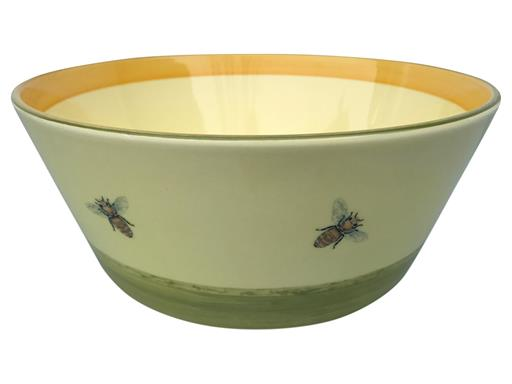 Zeller Keramik Biene Schüssel konisch 23 cm