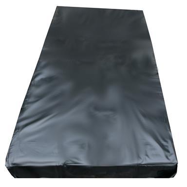 Inkontinenzlaken Unterlaken Matratzenauflage schwarz 160x200 cm Inkontinenzauflage Inkontinenz-Bettlaken Spannbettlaken auch für Kinder von eXODA