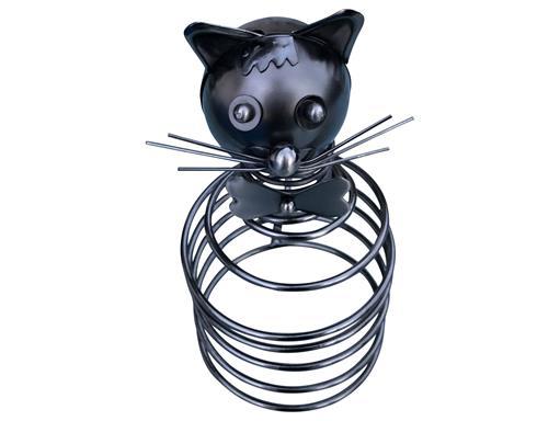 Katze Flaschenhalter Metall Weinflaschenhalter Figuren Design Deko von eXODA