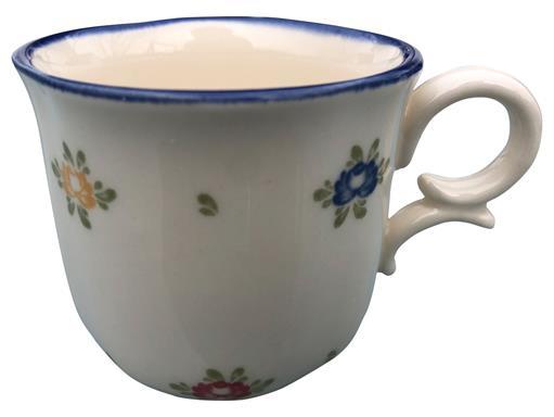 Zeller Keramik Petite Rose Obertasse hoch 0,16 l