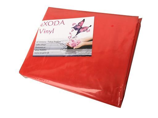 Inkontinenzlaken Unterlaken Matratzenauflage rot 180x220 cm Inkontinenzauflage Inkontinenz-Bettlaken auch für Kinder von eXODA