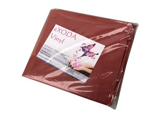 Inkontinenzlaken Unterlaken Matratzenauflage dunkelrot 200x230 cm Inkontinenzauflage Inkontinenz-Bettlaken auch für Kinder von eXODA